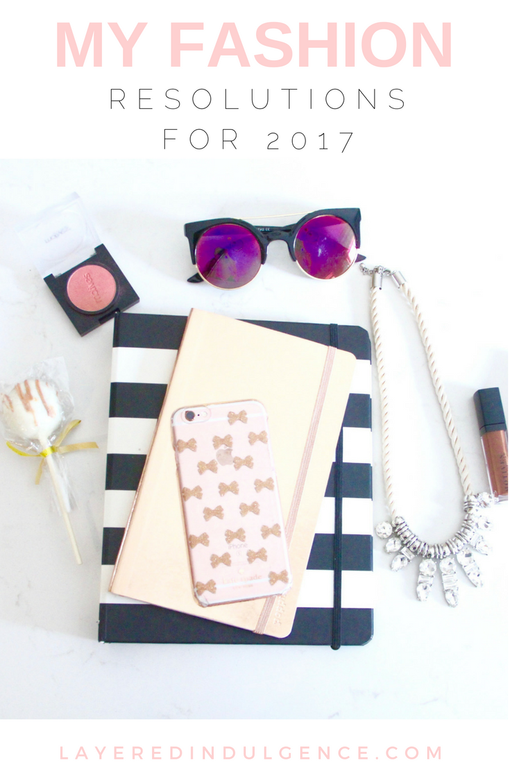 If one of your New Years resolutions is to be more thoughtful about your style and clothing articles, check out my fashion goals for 2017. From detoxing your closet to spending more on quality outfit pieces, I hope this acts as inspiration for you and your life in the new year! Click through to read the post now and save it for others to read too!