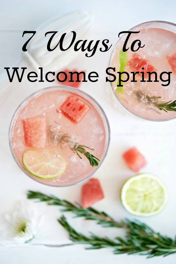 Spring is in the air! I've rounded up spring fashion, makeup, recipes, and more to welcome the start of the season!