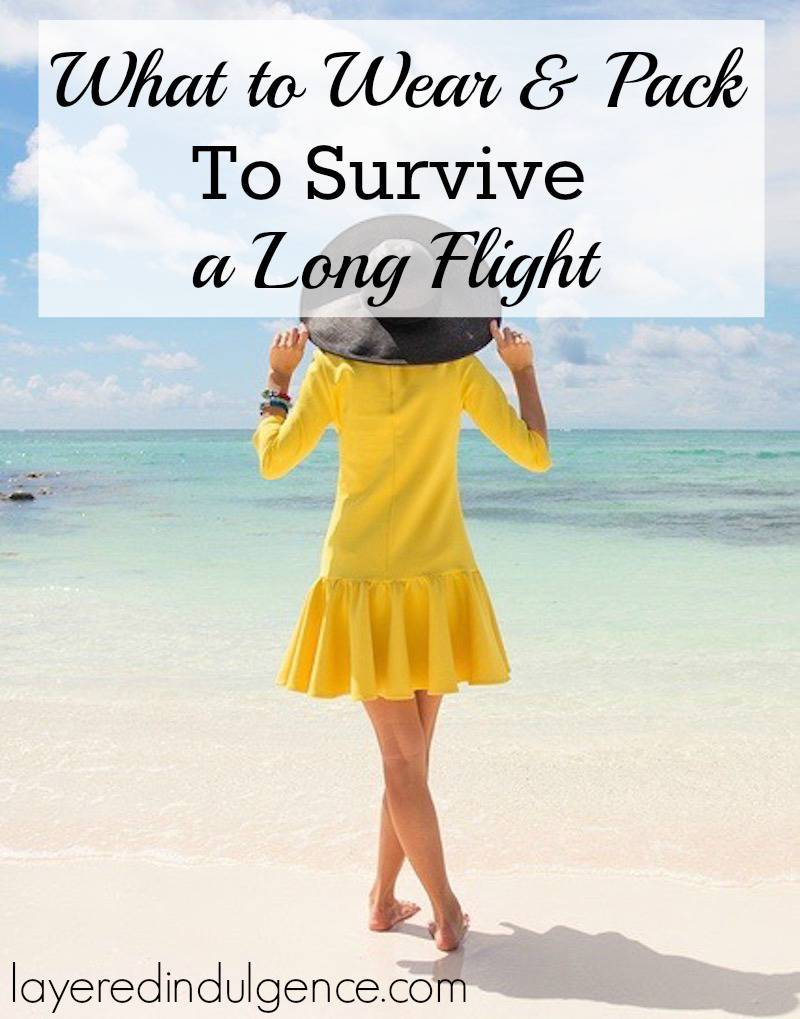 Love it or hate it, it's important to be comfortable when you travel on an airplane. If long flights make you restless and cramped, check out what to wear and pack to survive a long flight. You're sure to arrive at your destination relaxed and refreshed.