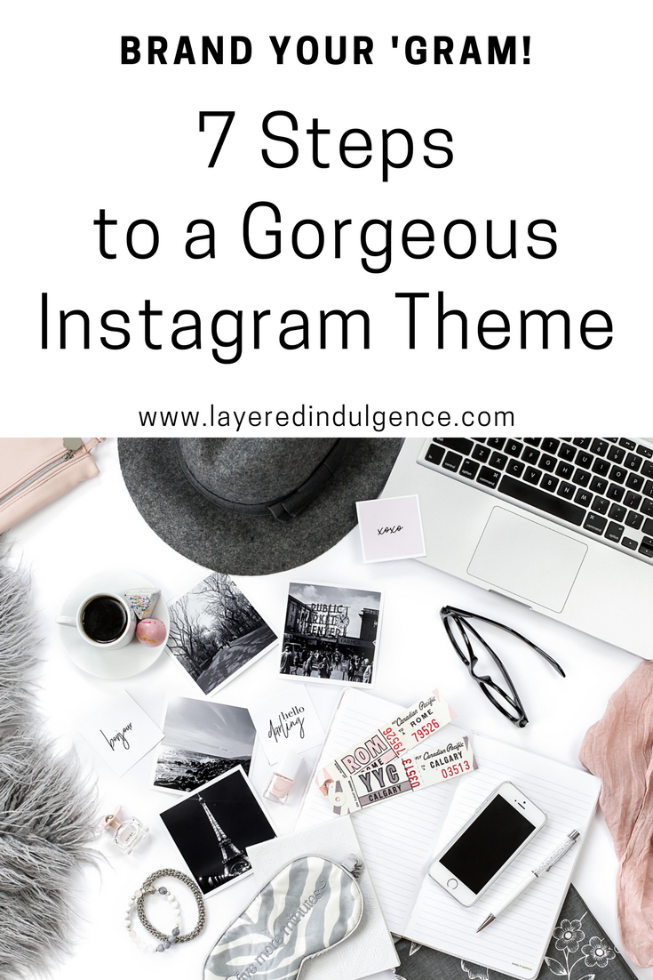 Do you want to grow your instagram following and engagement? Take a look at this in-depth tutorial on how to theme your instagram, and you'll be on your merry way! Click through to read the amazing instagram ideas and tips, or save this pin to read later!