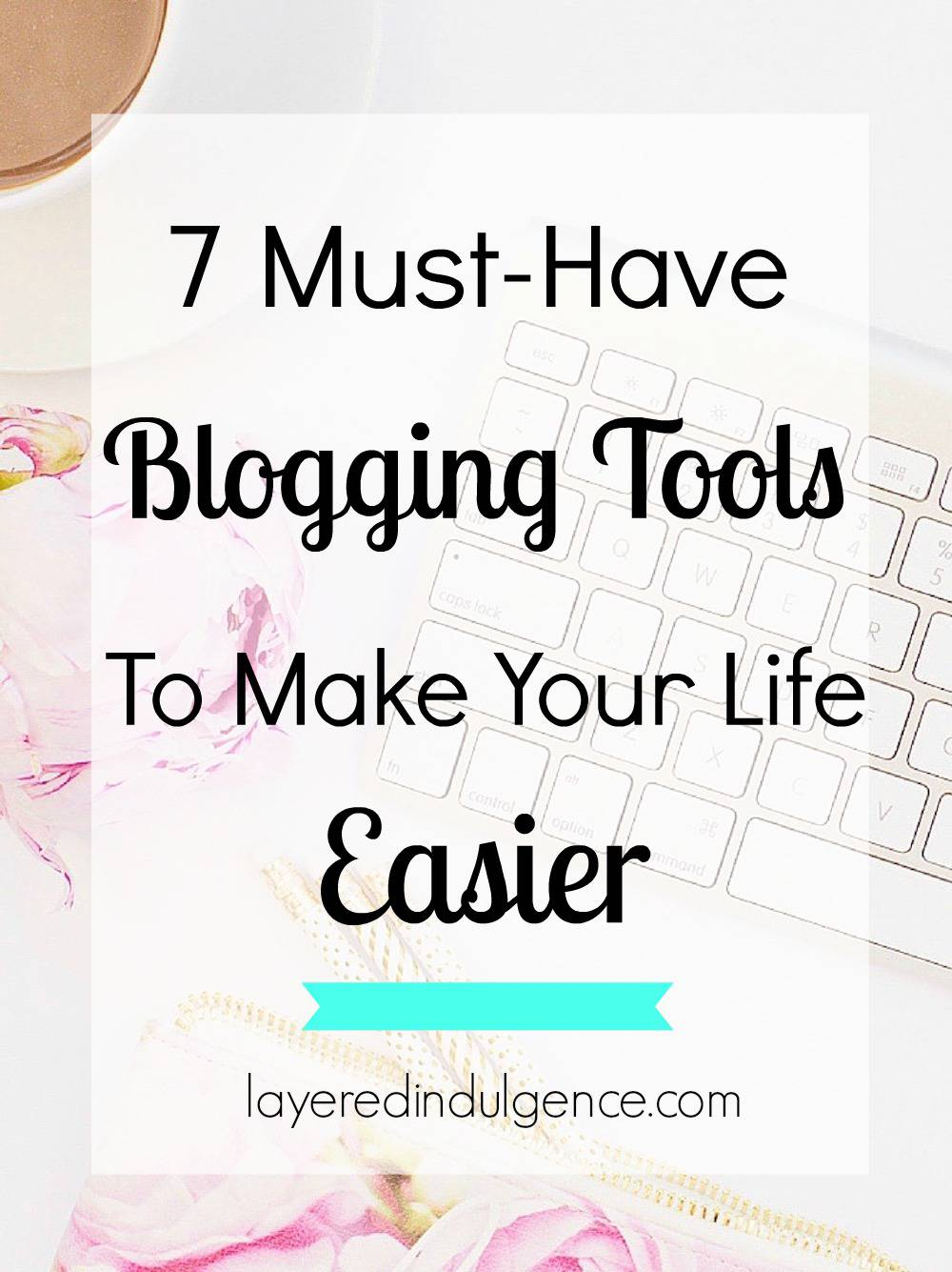Being a blogger takes a whole lotta time! Luckily there are amazing blogging tools to help you with everything from social media scheduling to perfecting SEO for your blog posts, to website customization. Here are 7 blogger resources I love and how to use them!
