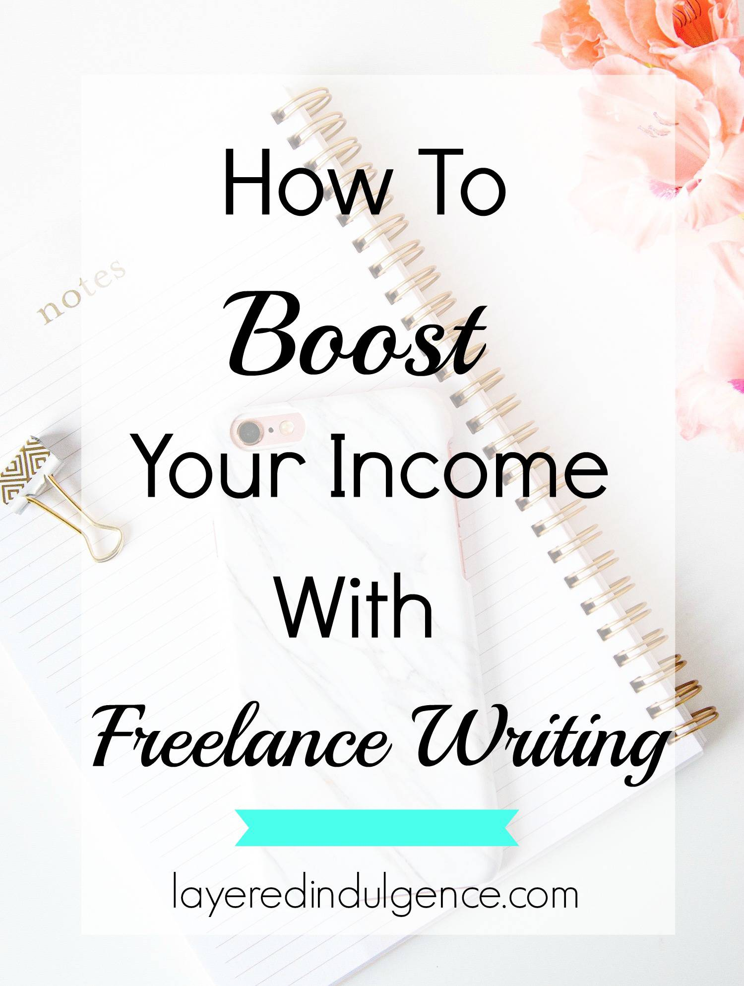 One way to boost your income as a blogger is freelance writing! If you're interested in freelance writing but not sure where to get started, click through to read this post! It's filled with tips and ideas that are perfect for beginners looking for freelance writing jobs! Read it now or save this pin for later!