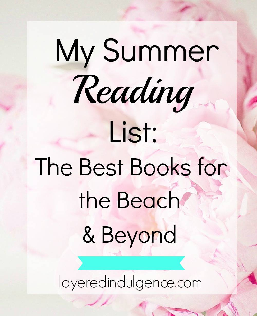Looking for a must-read list of books for summer 2016? I've got you covered! From Cynthia D'Aprix Sweeny's The Nest, to Mindy Kaling's Why Not Me, and much more, this is the ultimate summer reading list! Click through now to check it out or save this pin for later.