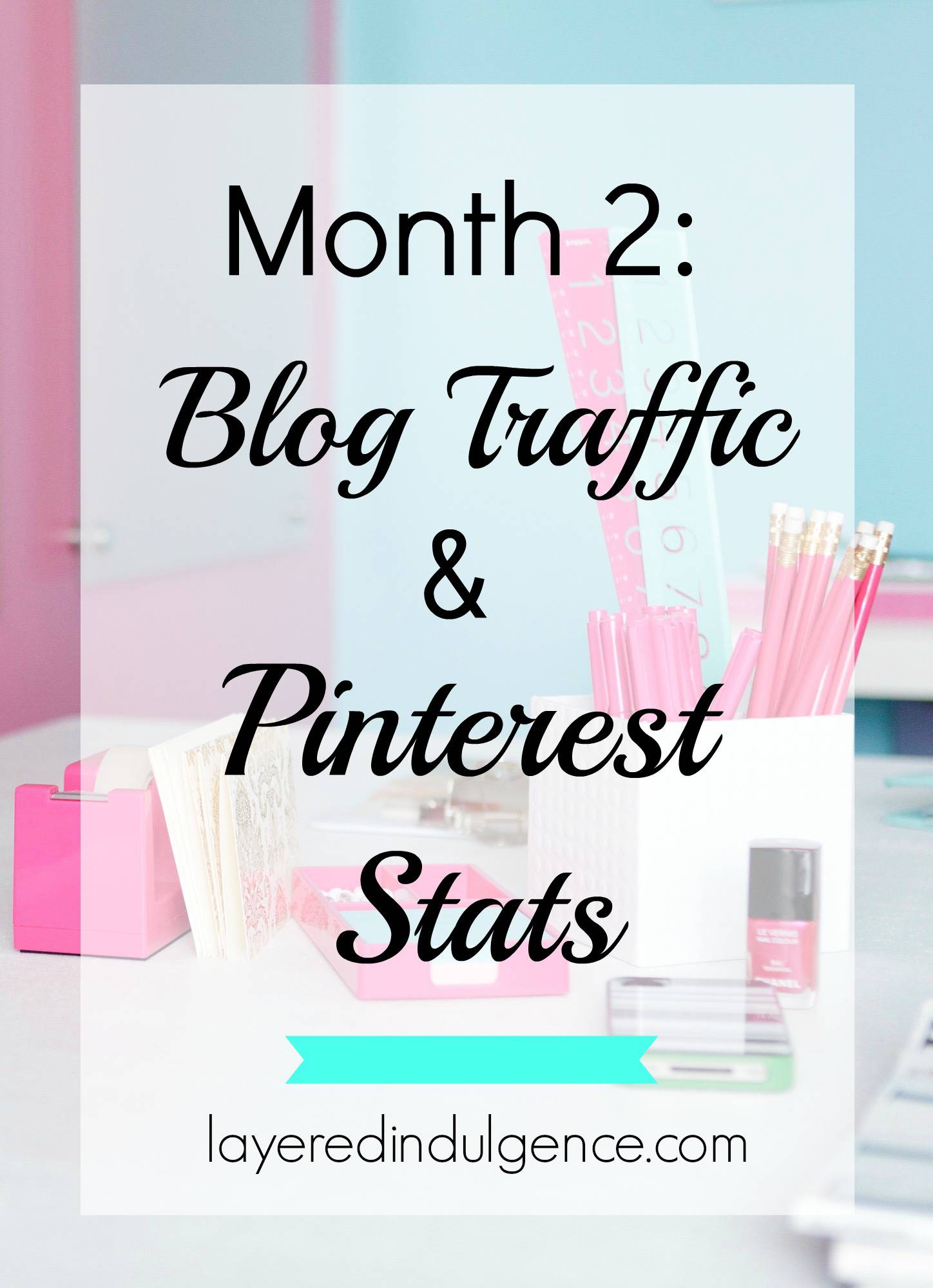 Two months after switching my focus to blogging for bloggers I've seen amazing growth with my blog! From upping my social media to growing my email list, I lay out exactly what I did to boost my page views and hit almost 200,000 monthly Pinterest viewers. Click through to see my stats, the tools I used, what worked, and my best tips to grow your blog!