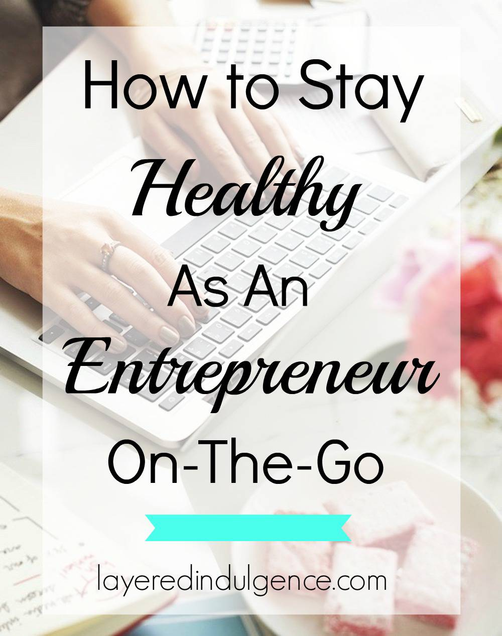 As an entrepreneur it's essential to keep your health at the front of your mind! When you work for yourself, sometimes the work just doesn't end, so you have to make a point of carving out time for certain things. From health and fitness tips to my favourite healthy recipes and how to get a better night's sleep, here are my top tips to staying healthy as a creative entrepreneur! Click to read the awesome tips or save this pin for later!