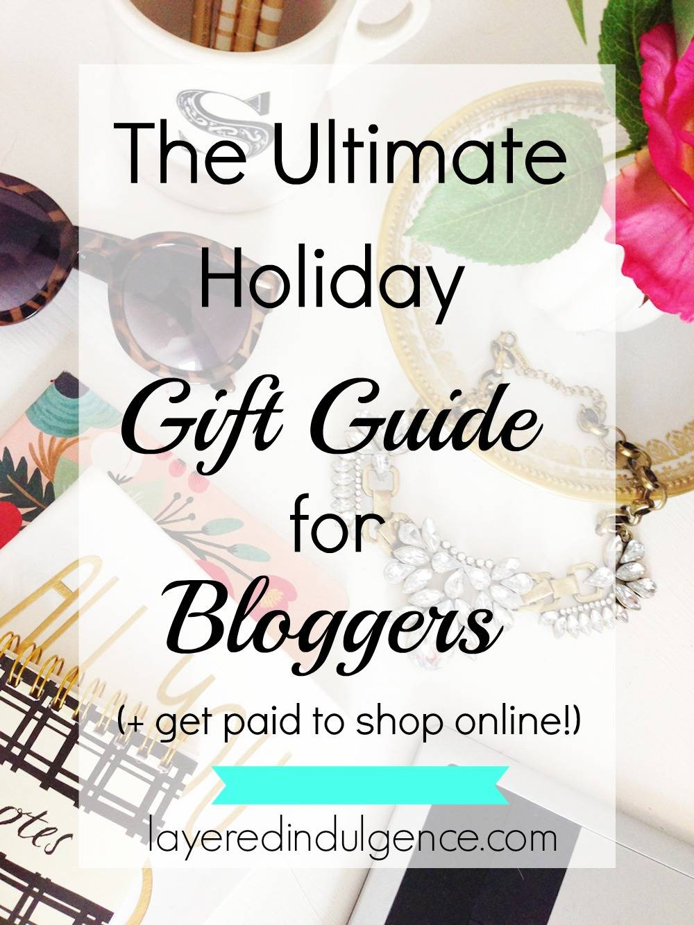 With the holiday season just around the corner, buying presents for the special ones in your life is probably high on your to do list. To ease some of the guessing games, I've put together a holiday gift guide for the blogger on your list. As a lifestyle blogger myself, I know exactly what you should get for her for Christmas. Think of it as my gift to you. Click through to check out the ultimate holiday gift guide for bloggers and save it to share with your friends!
