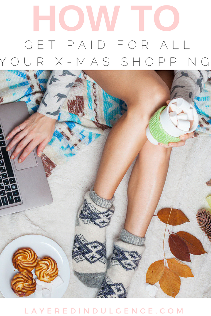 Calling all holiday shoppers! Are you looking to get your Christmas shopping done on a budget? How about actually getting paid to shop for everyone on your list! Whether you need gifts for boyfriend, girlfriend, mom or dad, check out how to make extra cash when you shop online this season! Click through to read how to get paid to shop and save this pin for later!