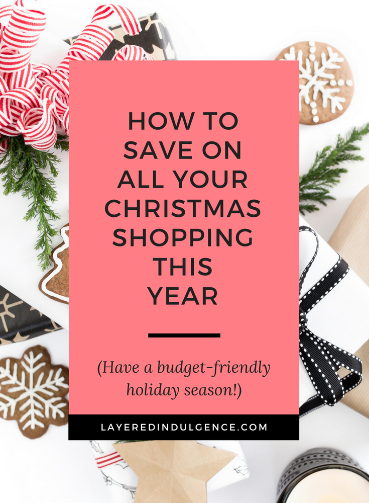 Ready to get an early start on your Christmas shopping? Check everyone from your family to your friends off your list by getting your Christmas gifts on a budget! This cheap tip is the best idea I've seen! Click through to get in on my shopping secret and save this pin for other savvy shoppers to check out too!