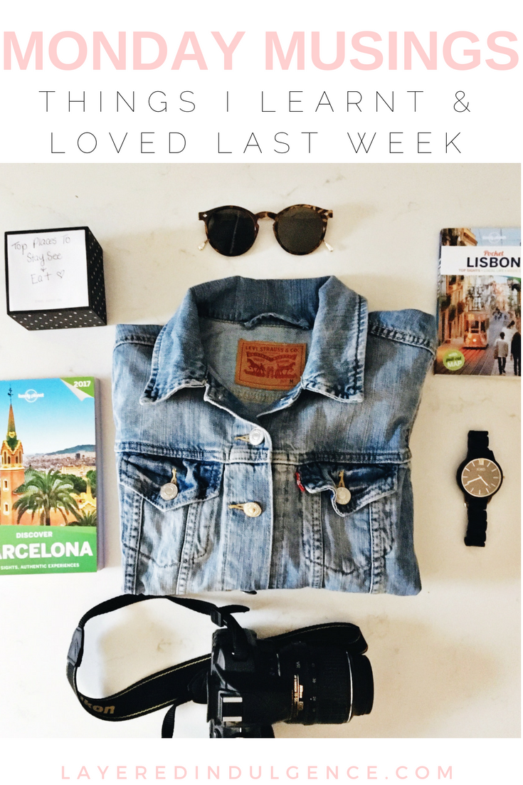 Monday Musings: Lifestyle tips and advice, and things I loved last week from an entrepreneur event, to a Toronto cafe, an inspiring book, and an easy coconut curry tofu recipe