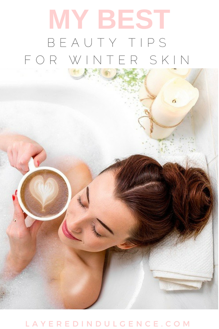 Is winter wreaking havoc on your skin and hair? I've rounded up my best beauty tips and tricks, plus all my favourite beauty products for skin, for face and for hair. From an overnight mask to natural remedies that will hydrate your complexion, click through to read the post now and save it for others to read too!