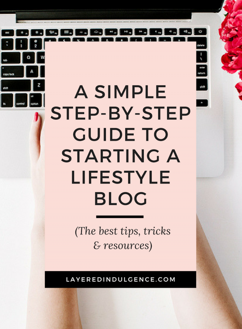 Blogging for beginners: Want to know how to start a lifestyle blog? From finding your focus, to choosing a host and picking a website template, start a blog today!