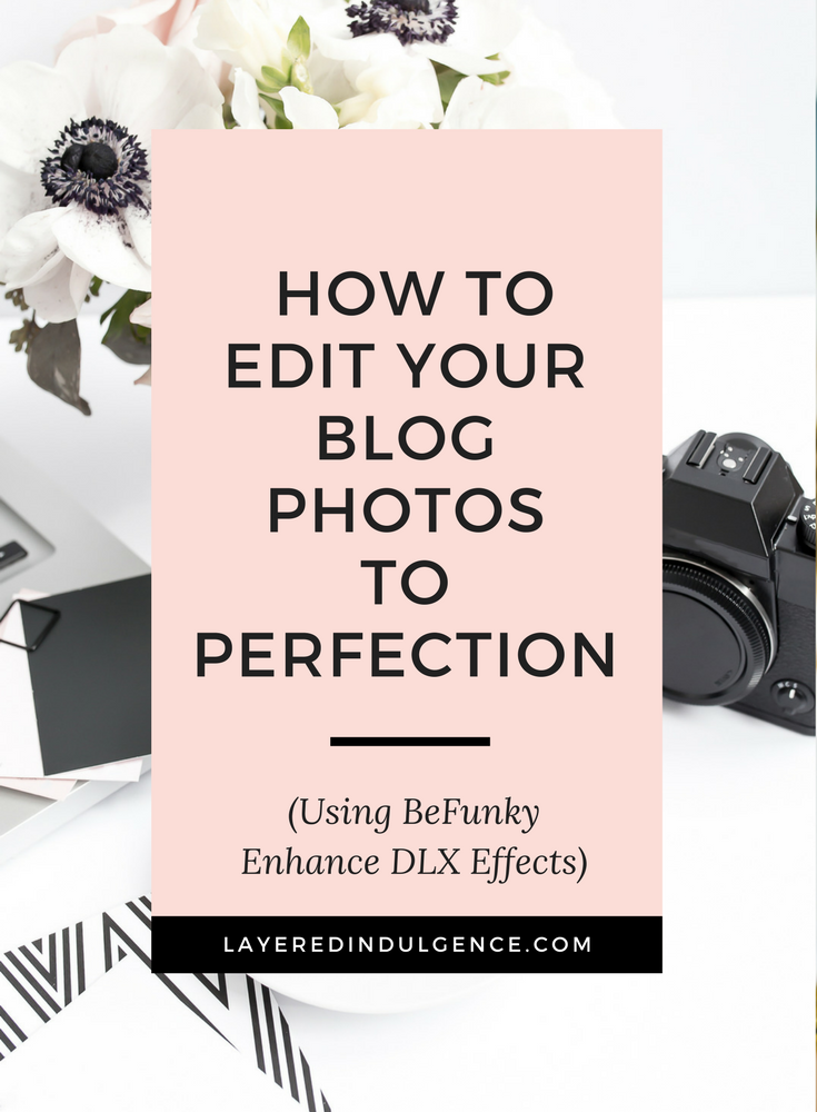 If you want a bangin' blog, you have to know how to edit photos like a pro! If you're pictures are dark and grainy, a photo editor like BeFunky will help enhance, brighten and sharpen your images to perfection. Click through to see ideas for how to edit your blog photos so your website captures your readers' attention every time! And don't forget to save this image so others can read the post too!
