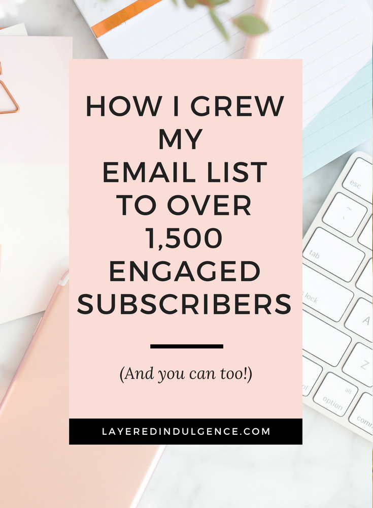 Email marketing is key if you want to grow your blog and make money blogging. From using social media to creating awesome opt-ins, these are my best tips and ideas to get more subscribers. Click through to read my post on how to grow your email list to your first 1,000 subscribers and save this pin for others to read too!