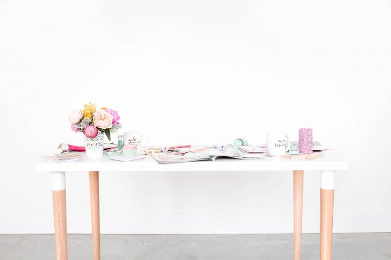 declutter and organize your workspace 2