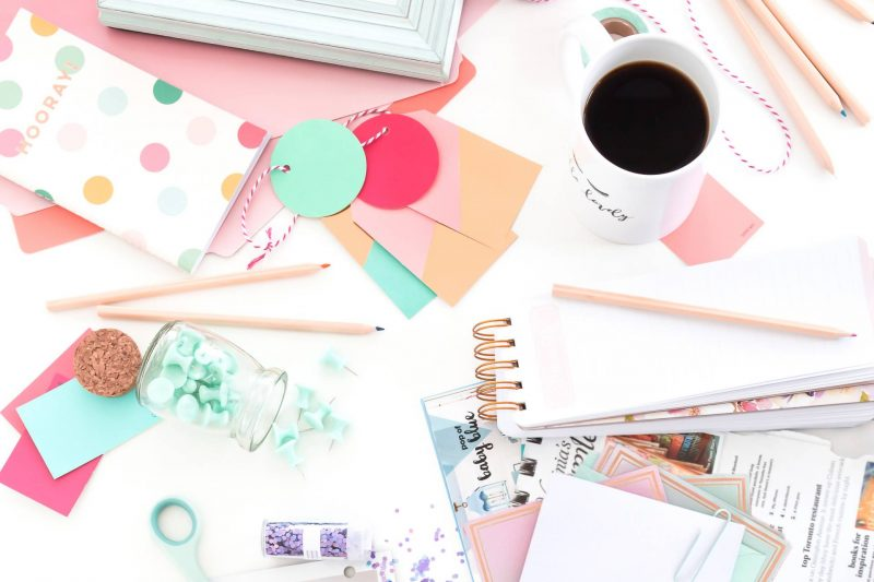 declutter and organize your workspace