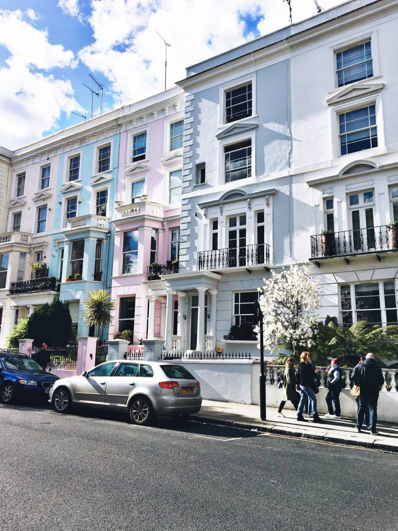 A Guide to Oxford and London England Notting Hill
