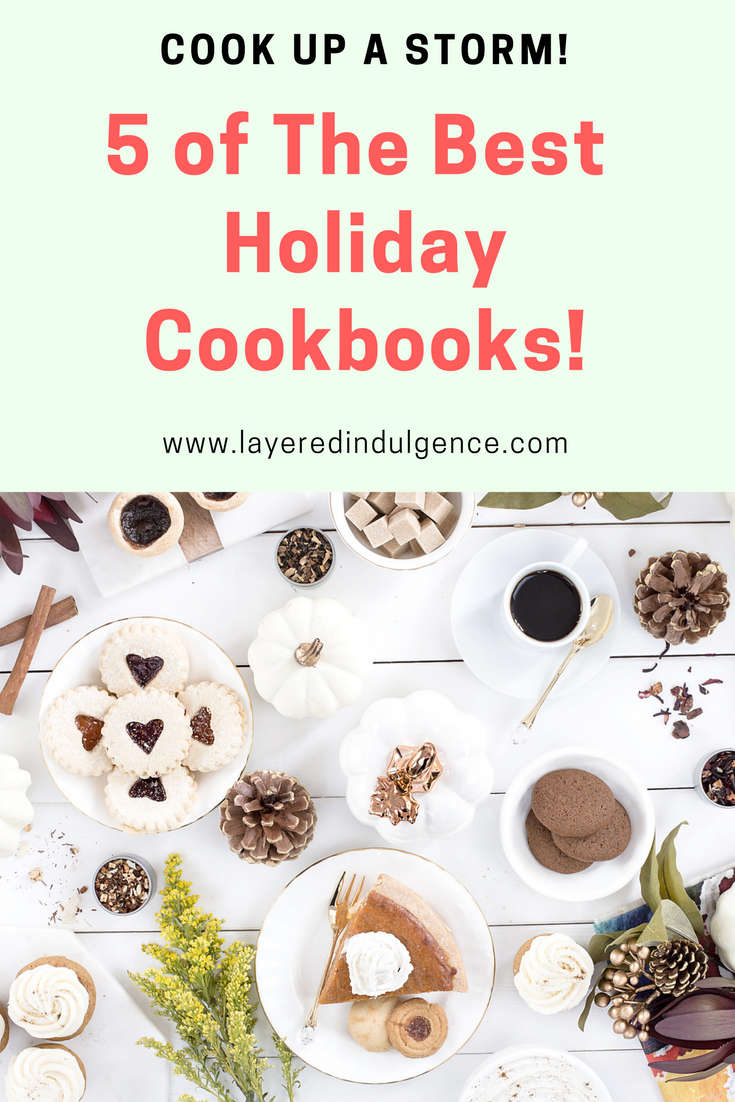 Are you going to be baking and cooking up a storm this Christmas? Check out these easy recipes from 5 cookbooks that will make your holiday season the best one yet! Whether you're a having a party or cooking for yourself, you need these cookbooks for winter!