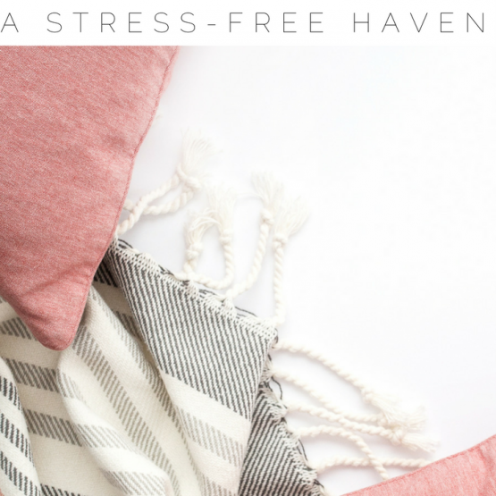 7 Ways to Create a Stress Free Home! Take a look at 7 simple things you can do to get your house into a feel good space. These ideas will make your life a whole lot less stressful and you will love coming home to your space! Click through to read all about it now and save this pin for others!