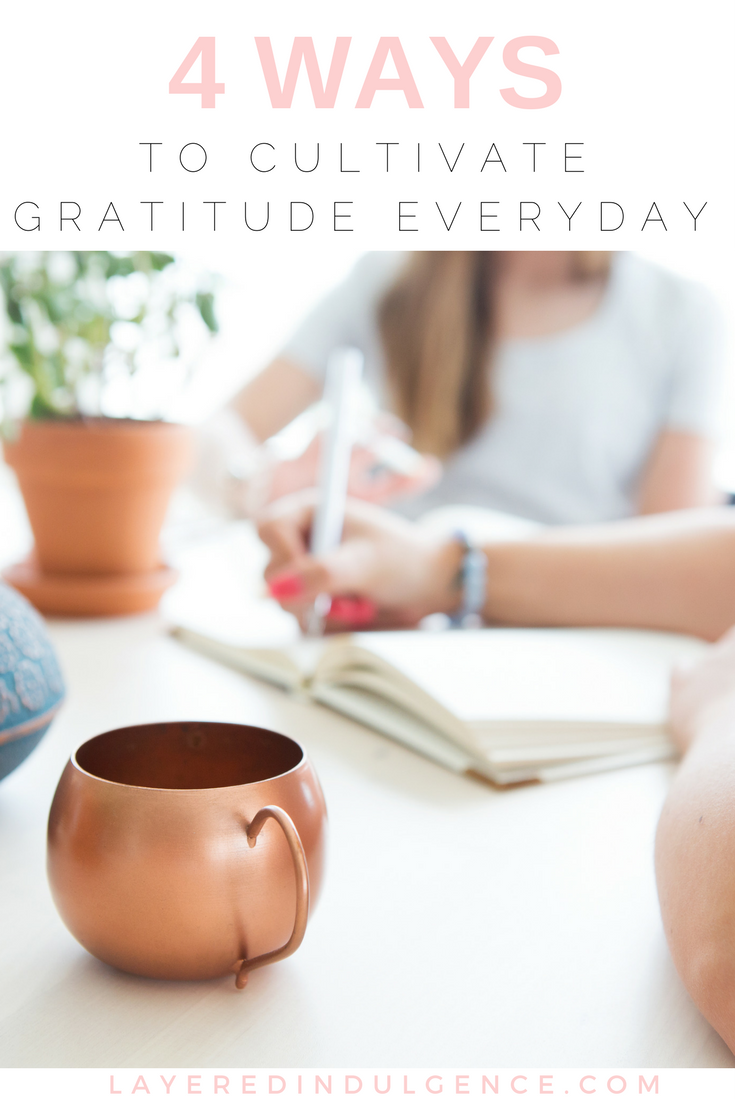 Are you looking to cultivate gratitude every day? There are so many things to be grateful for in life, it's important we focus on them day by day. From a gratitude journal to a mindset switch, these gratitude activities will highlight what you're thankful for and help you live a positive, more fulfilling life. Click through now to read 4 ways to cultivate gratitude, and save this pin for others!