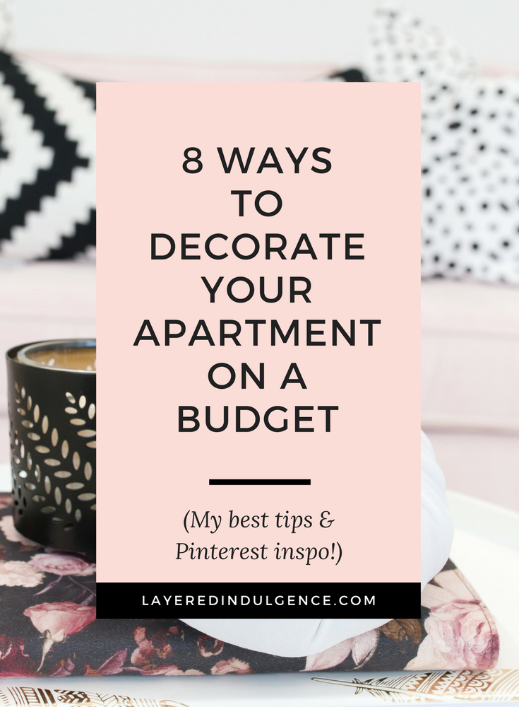 Moving into a new apartment? Check out how to make easy DIY furniture and an awesome IKEA hack for cheap! You don't have to spend all your money to get your dream space! These budget tips will help you make your place a home in the most stylish way! Click through to read my tips now and save it for other savvy home owners too!