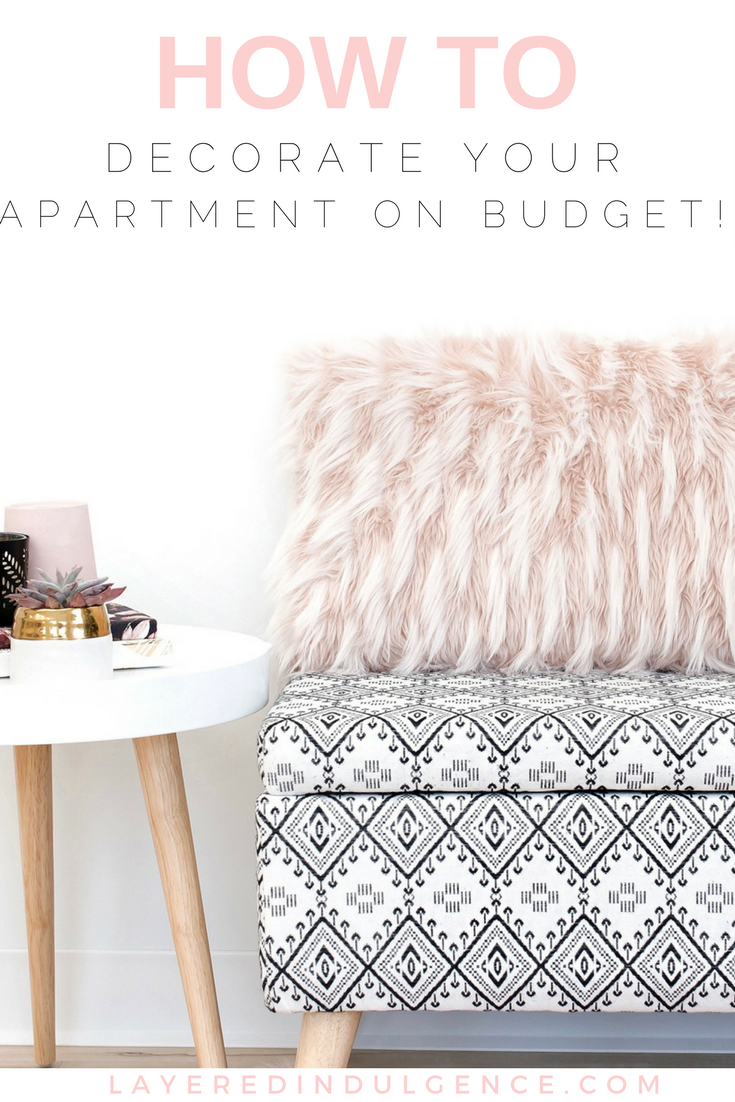 Wondering how to get your dream apartment on a budget? From an IKEA hack to easy DIY items, to wall art, and vintage décor, these are the best tips for how to decorate your apartment for cheap. Don't worry about money, you can still deck out your home in style! Click through to check out the tips and save this for other budgeters to check out!
