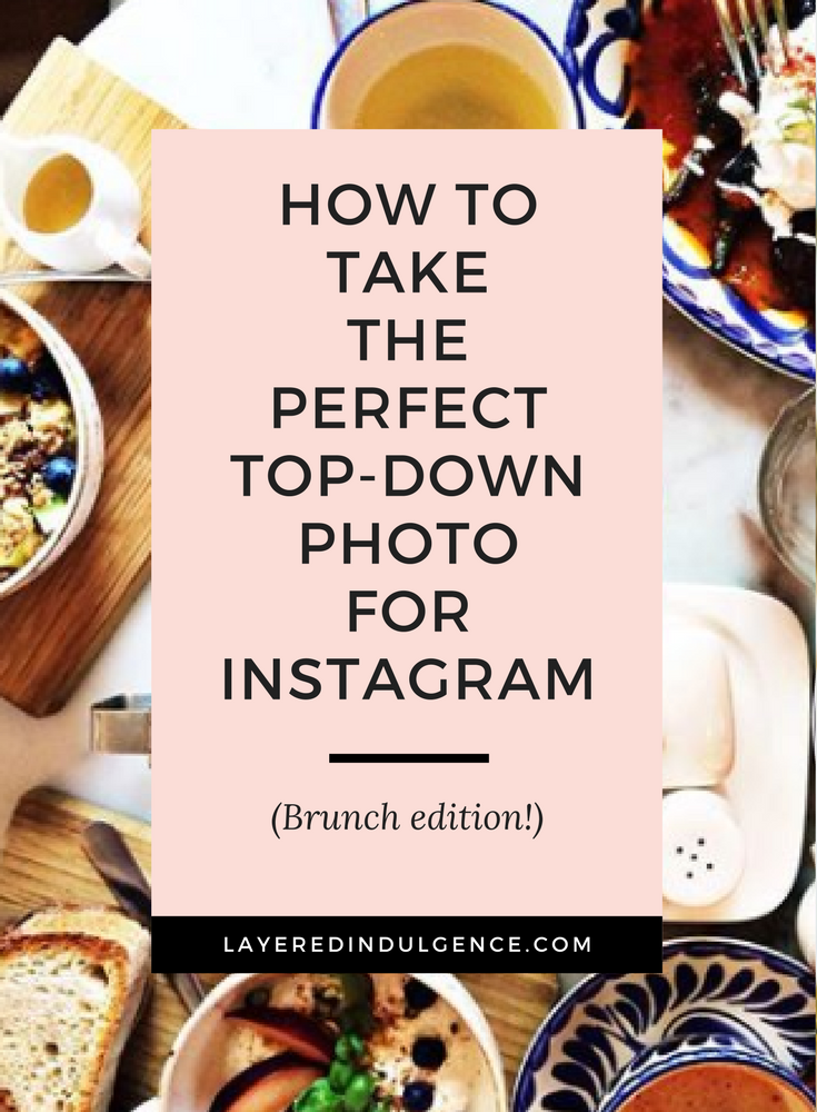 How to Take a Top Down Photo for Instagram. Want a gorgeous Instagram feed that will grow your followers? Try these top down Instagram photography tips!