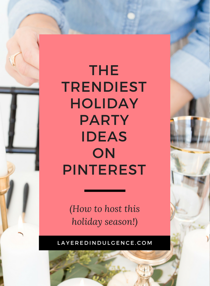 Holiday Party Ideas to Make Your Own: Are you hosting a Christmas party this year? From décor ideas to food and appetizer recipes, how to set a table and more, your friends and family will be amazed at your holiday hosting skills! Click through to read the tips now and save this for other holiday hostesses to pin too!