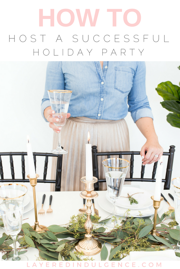 Holiday Party Ideas to Swoon Over: Are you hosting a Christmas party this year? From décor ideas to food and appetizer recipes, how to set a table and more, your friends and family will be amazed at your holiday hosting skills! Click through to read the tips now and save this for other holiday hosters to pin too!