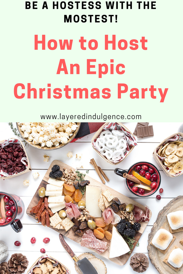 Hosting a Christmas party? You're going to want to check out these epic ideas from gingerbread cookie mug toppers to delicious food and treats for everyone! We've got appetizers, cheese boards table décor and even Christmas sangria! Check it out now if you want to be the hostess with the mostest!
