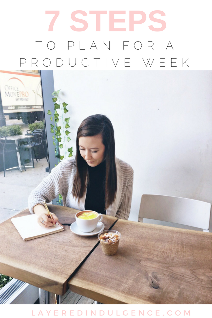 If you want to plan for a productive week, check out these productivity tips to help you reach your goals. Life and work get busy and organization is key to success! Check out this step by step guide to get through your to do list and make the best of your week! Click through to check out the tips and save this post for others!