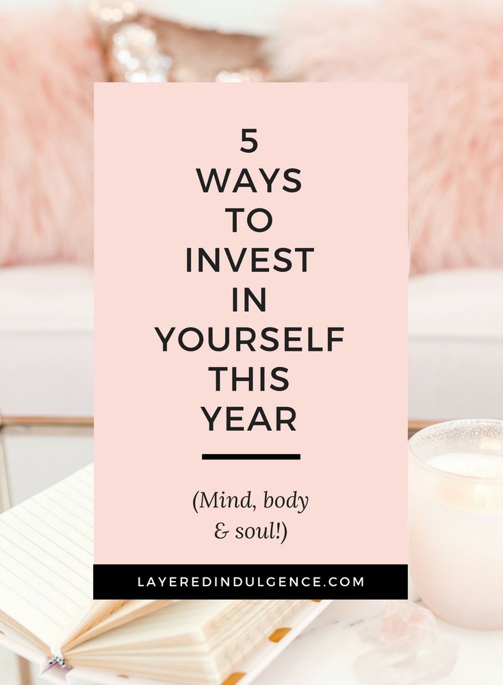 You have to invest in yourself if you want to prosper in your life and business. From fitness to creativity to your mental health, you need to figure out how to work on yourself and where to invest time and money. If it's going to help you be your best self, you can afford it. Check out 5 ways to invest in yourself this year!