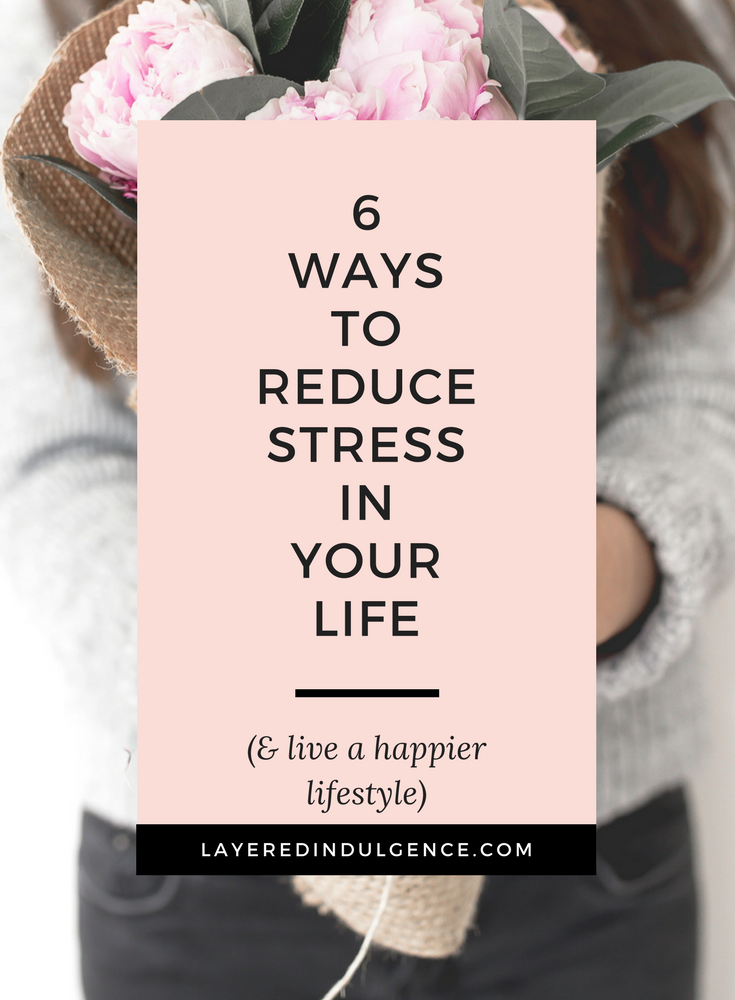 Check out 6 tips for how to reduce stress and stay calm when life gets overwhelming. From a morning and night time routine, to getting a proper sleep and getting active, these are my best ideas for reducing stress and anxiety.
