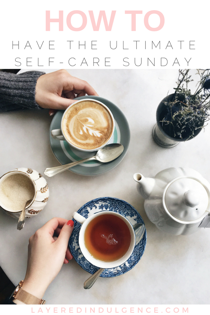 The Ultimate Self Care Sunday Routine: These ideas and activities are great for women who want to beat the Sunday Scaries and get ready for a productive week. Whether you have anxiety about Monday, or just want to know how to relax and rejuvenate, these tips are for you!