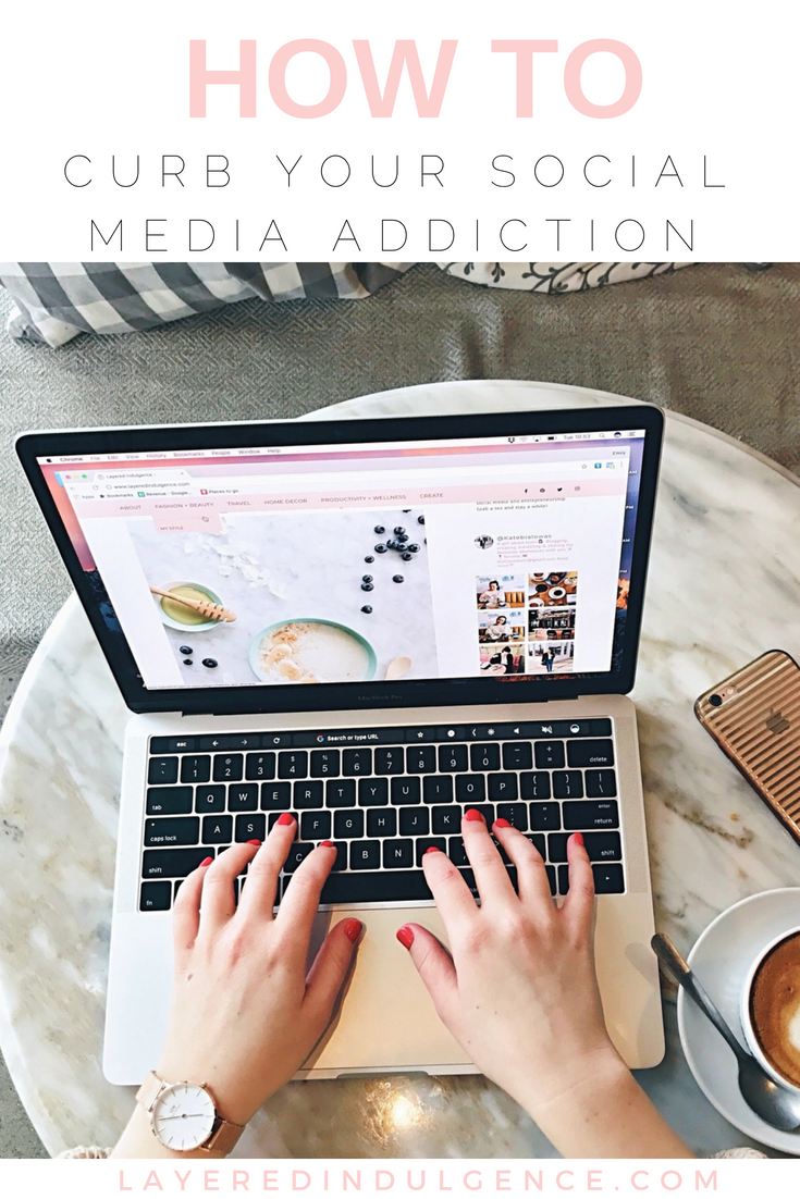 How to Curb Your Social Media Addiction: Use this strategy to detox your life of social media and Instagram, and live in the moment. These tips and ideas will help you get back to what's important.