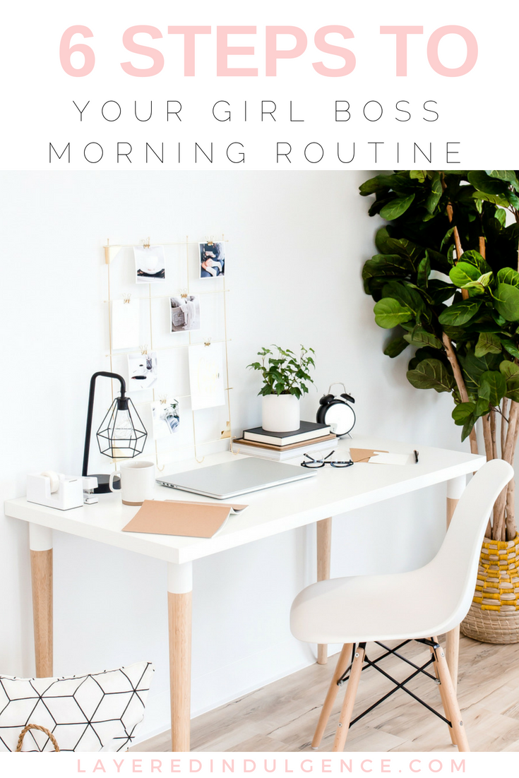 Have the best morning ever with this girl boss morning routine. From self care ideas to mindset tips to creating healthy regimens, you'll feel energized and inspired every day! These morning routine hacks will make you more productive and push you towards your dreams and goals!