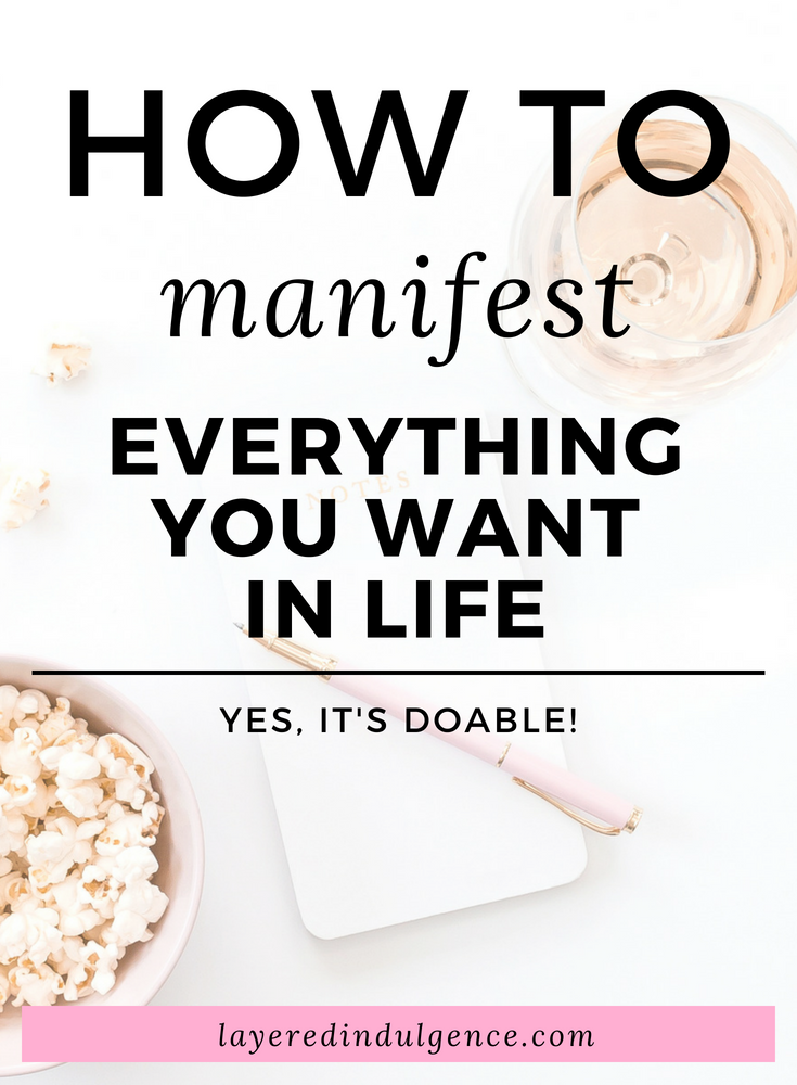 How to manifest everything you want in life. Whether it's money, love, or you dream career, the law of attraction is real and you can work with the universe to create the life you've always wanted! Here are 7 steps to manifest what you want and put your positive thoughts to use!