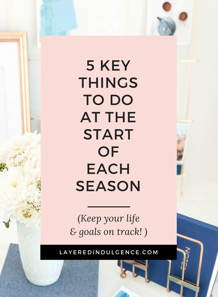Spring clean your life! Use these tips to evaluate and organize your goals, finances and routines. Spring cleanings hacks aren't just for your home! Live a better, happier lifestyle!
