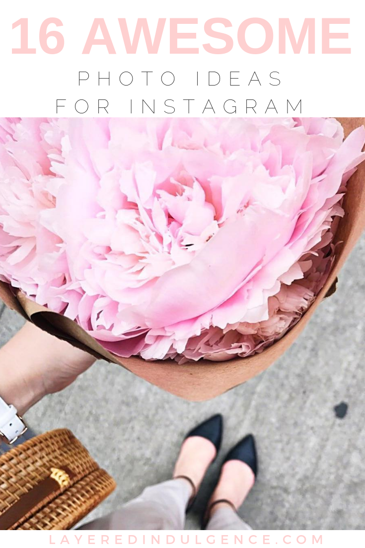 Photo ideas for Instagram: Inspiration and creative ideas for when you don't know what to post next. Simple photography ideas whether it's winter, summer, fall or spring!