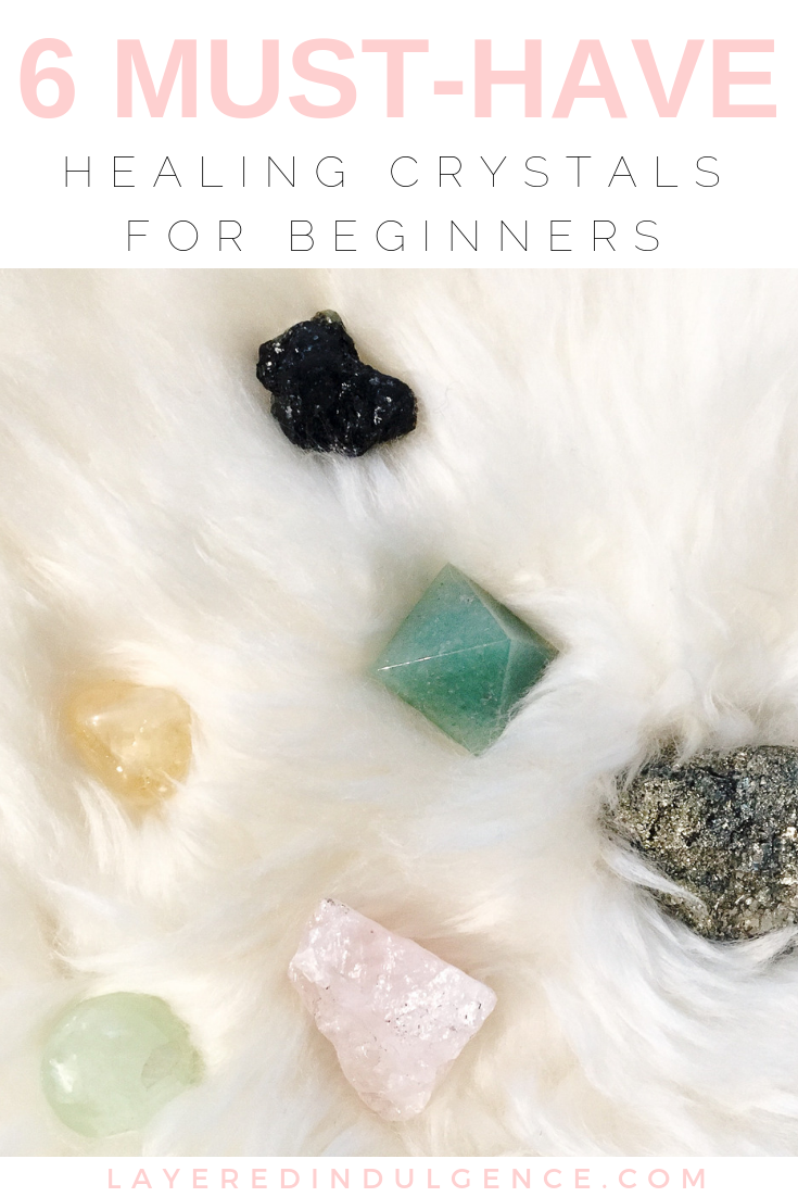 A beginners guide to healing crystals. Tips for how to use crystals and gemstones for life and meditation. These are the 6 must-have crystals you need in your life.