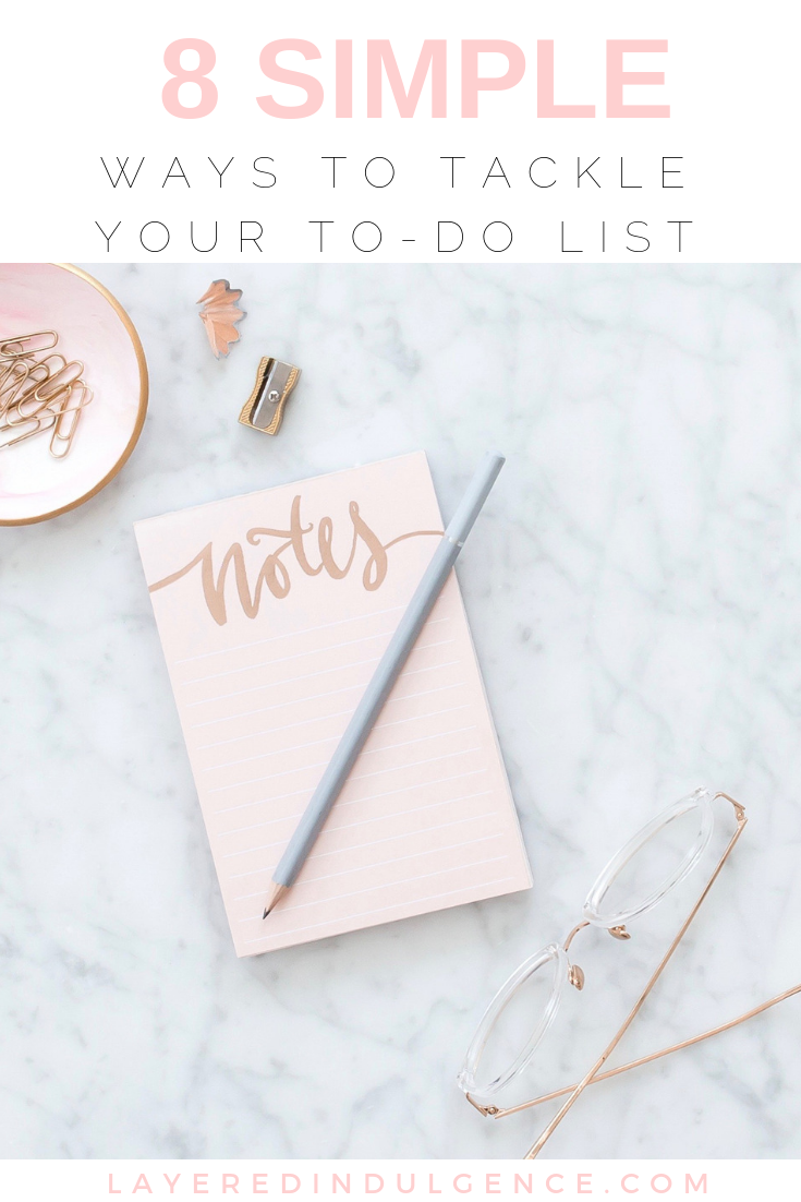 How to organize your to-do list and get things done! We all have things to do and these life changing productivity hacks and ideas will help you get more done in less time!