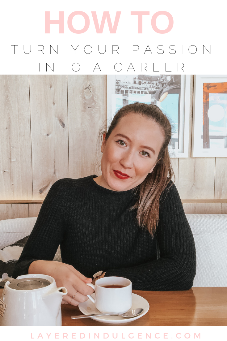 Want to find your dream job? Learn how to turn your passion into a career with these awesome tips! Go from hobby to business and make money from home! #hobbytobusiness #passiontobusiness #workfromhome #freelancewriting #startablog