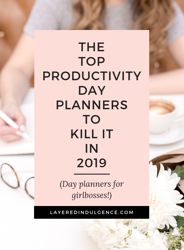 The best day planners to buy to enhance your organization. From the Day Designer to the Living Well planner, to the Kate Spade planner, these stylish planners are ideal for work! #planner #dayplanner #productivityplanner #girlboss #agenda