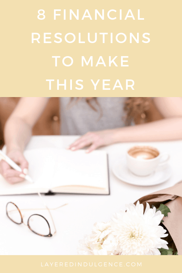 8 personal finance goals to make this year! Want to know the secret to saving money and living debt free? With this of amazing ideas, financial goal setting has never been easier! Save money, budget and become financially savvy!