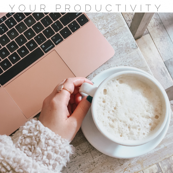 Boost productivity at work with these 6 tips! If life is getting you down, these ideas will help get you back on track! Follow these steps to boost your mood, mindset and productivity! #productivity #boostproductivity