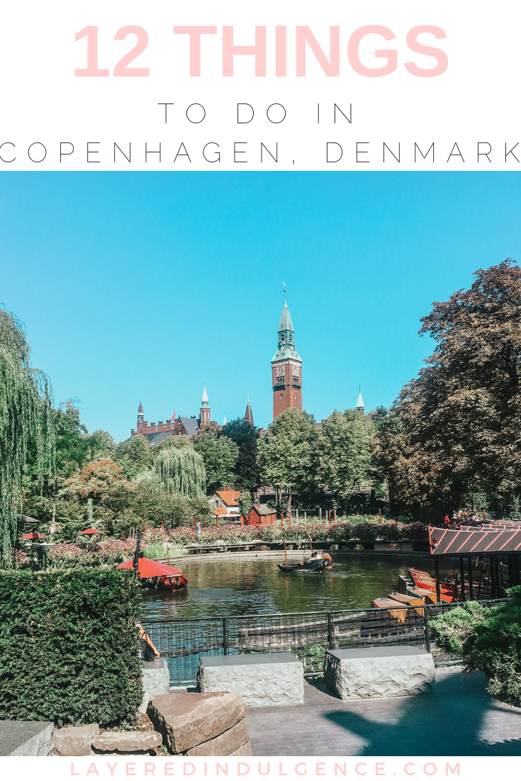 12 things to do in Copenhagen Denmark. The best travel tips, food and architecture you have to see! Plus a day trip to Malmo Sweden!