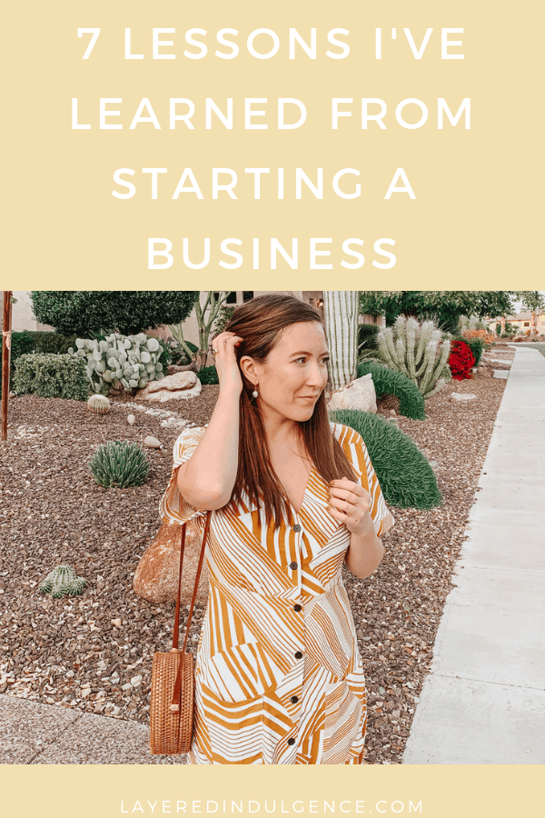 7 business tips I've learned from my years of entrepreneurship! These small business tips and tricks will help you whether you're thinking of starting a blog, an online business or home based business. Running a successful business is easy with these ideas!