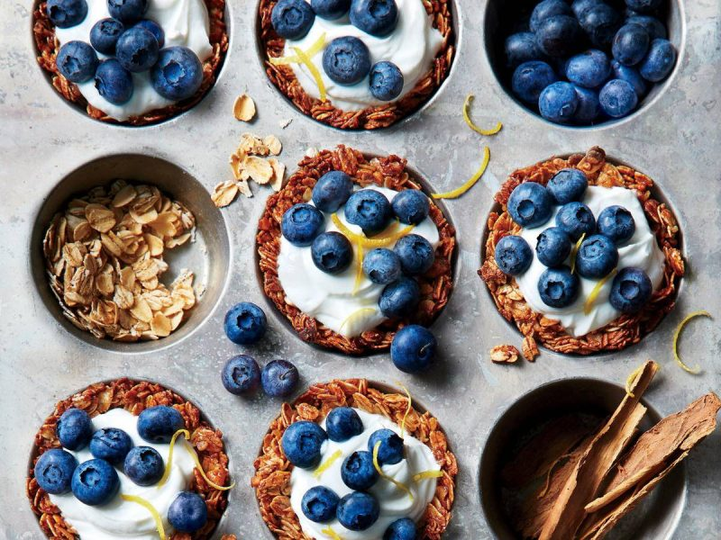 on the go breakfast recipes- granola cups