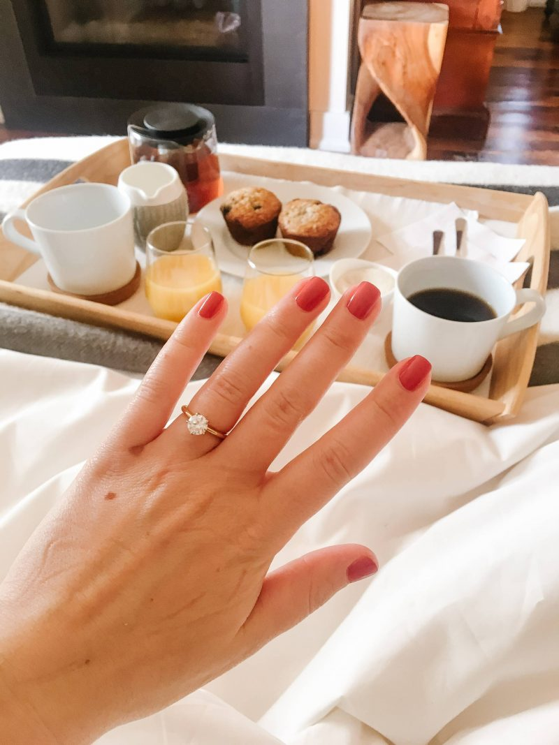 what to do after you get engaged- get your ring sized