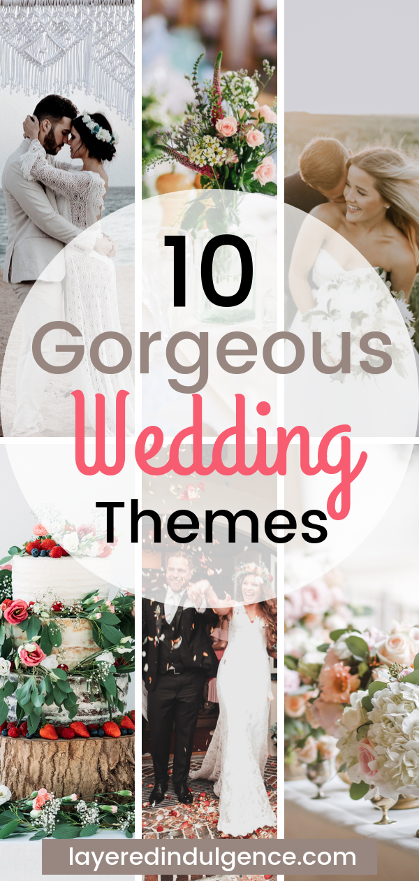 creative wedding themes